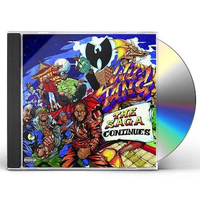 Wu-Tang Clan SAGA CONTINUES CD
