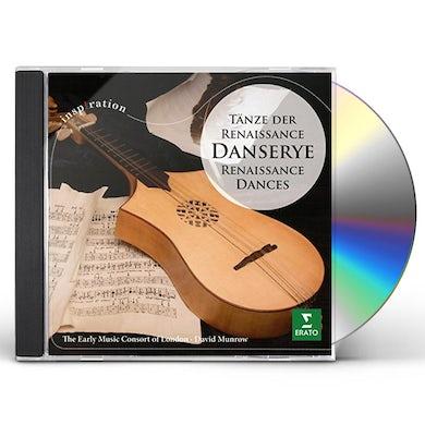 David Munrow DANSERYE: T NZE DER RENAISSAN CD