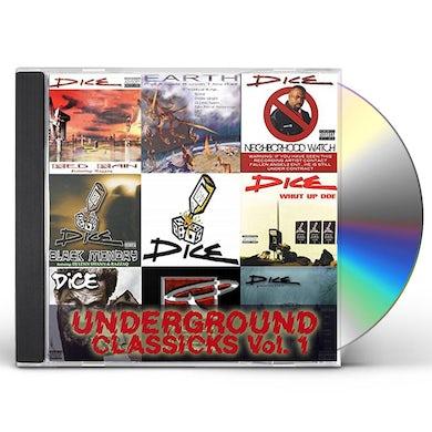 DICE UNDERGROUND CLASSICKS 1 CD