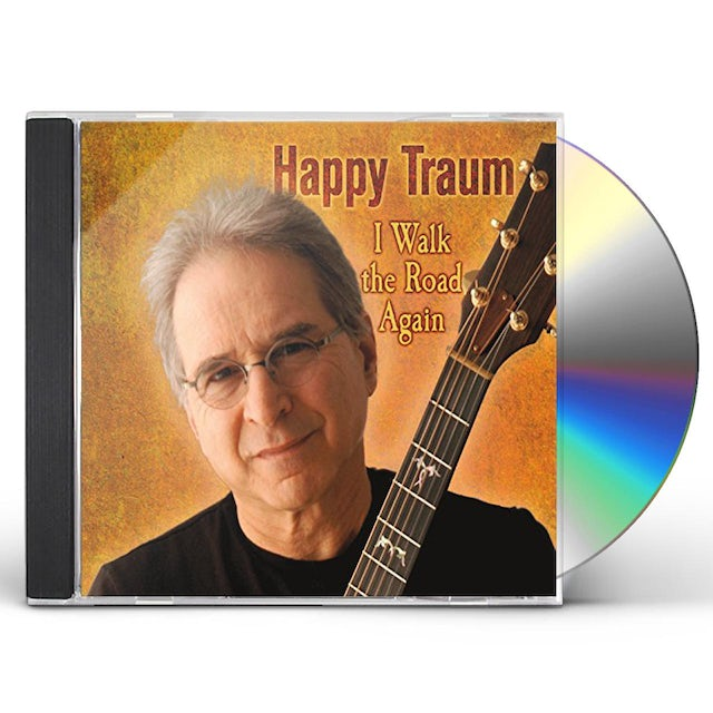 Happy Traum WALK THE ROAD AGAIN CD