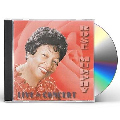 Rose Murphy LIVE IN CONCERT CD