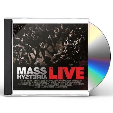 Mass Hysteria LIVE CD