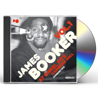 James Booker AT ONKEL PO'S CARNEGIE HALL HAMBURG 1976 1 CD