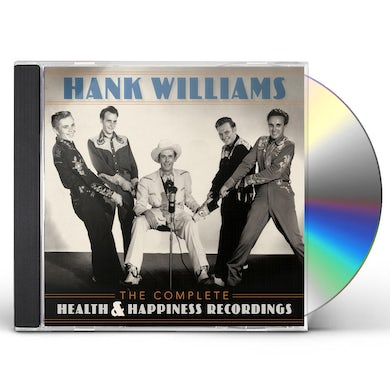 Hank Williams COMPLETE HEALTH & HAPPINESS RECORDINGS CD