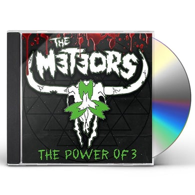 The Meteors POWER OF 3 CD