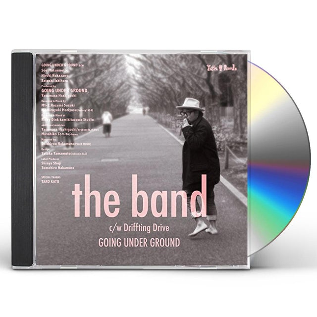 Going Under Ground BAND CD