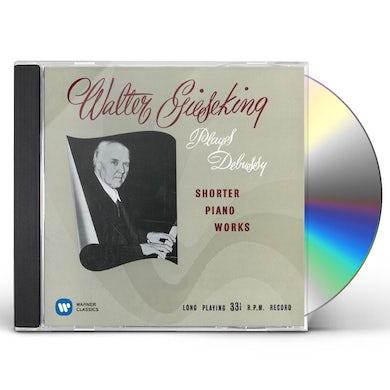 Walter Gieseking DEBUSSY: SUITE BERGAMASQUE. ARABESQUE CD