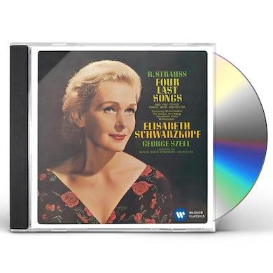 Elisabeth Schwarzkopf R.STRAUSS: FOUR LAST SONGS. 12 SONGS CD