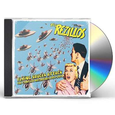 Rezillos FLYING SAUCER ATTACK: COMPLETE RECORDINGS 1977-79 CD
