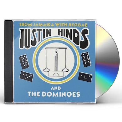 Justin Hinds & The Dominoes FROM JAMAICA WITH REGGAE CD
