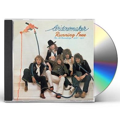 Widowmaker RUNNING FREE: JET RECORDINGS 1976-1977 CD