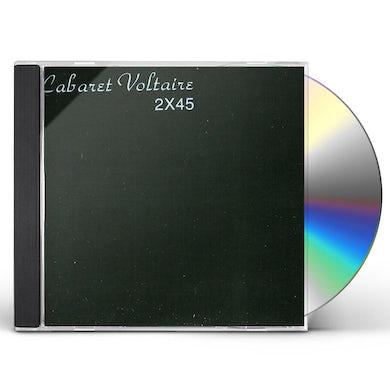 Cabaret Voltaire 2X45 CD