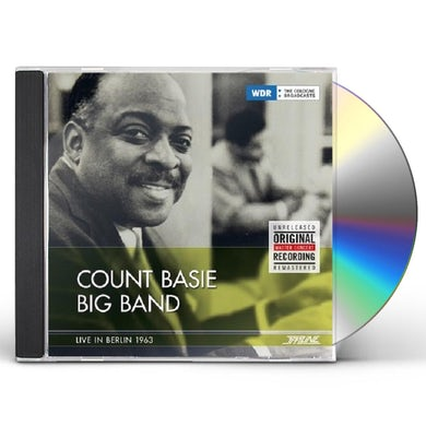 Count Basie Big Band LIVE IN BERLIN 1963 CD