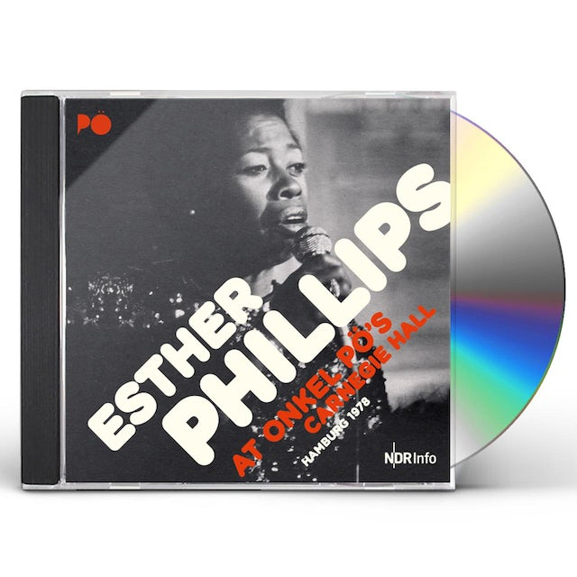 Esther Phillips AT ONKEL PO'S CARNEGIE HALL HAMBURG 78 CD