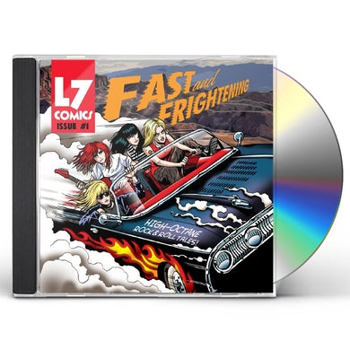 L7 FAST & FRIGHTENING CD