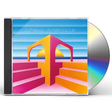 Jose Padilla SO MANY COLOURS CD