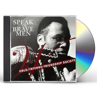World SPEAK OF BRAVE MEN CD