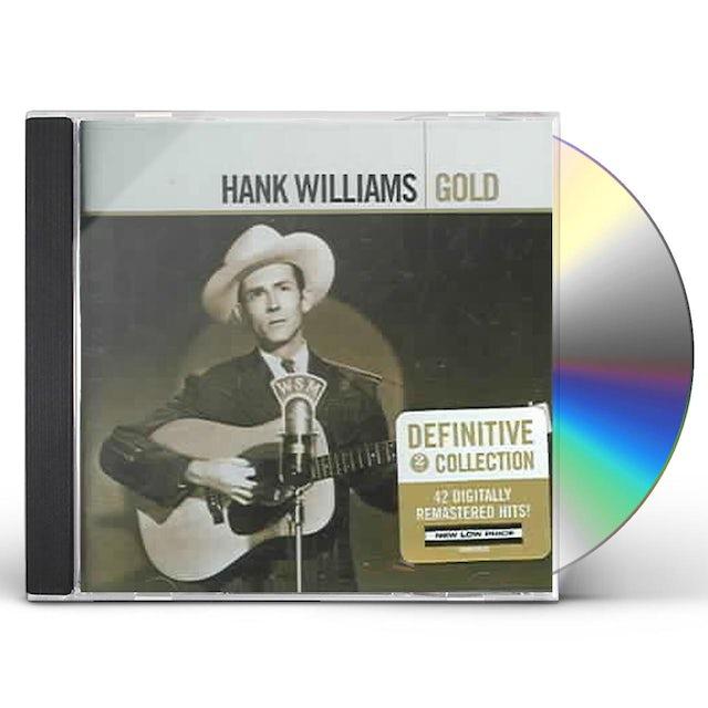 Hank Williams Sr GOLD CD
