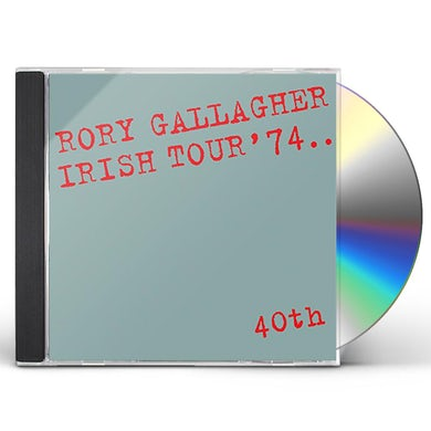 Rory Gallagher IRISH TOUR 74 CD
