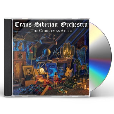 Trans-Siberian Orchestra CHRISTMAS ATTIC CD