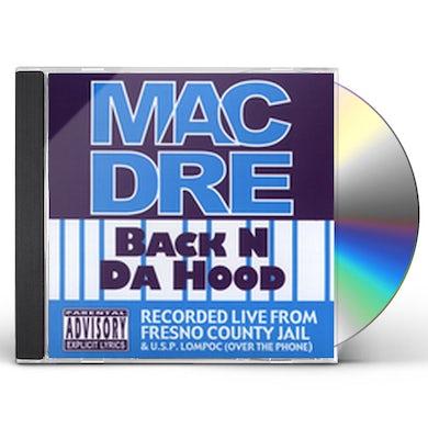 Mac Dre BACK N DA HOOD CD