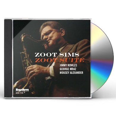 Zoot Sims ZOOT SUITE CD