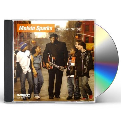 Melvin Sparks GROOVE ON UP CD