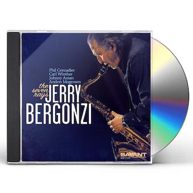 Jerry Bergonzi THE SEVEN RAYS CD
