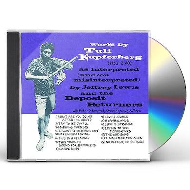 Jeffrey Lewis WORKS BY TULI KUPFERBERG (1923-2010) CD