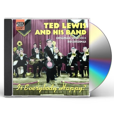Ted Lewis IS EVERYBODY HAPPY? CD