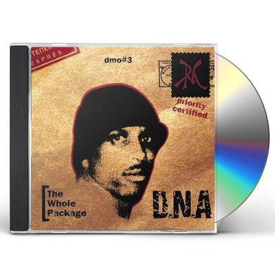 D.N.A DMO#3 THE WHOLE PACKAGE CD