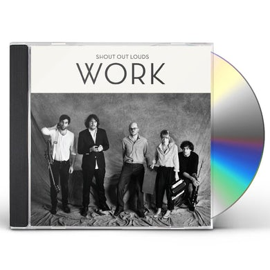 Shout Out Louds WORK CD