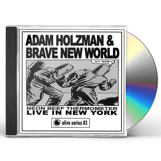 Adam Holzman NEON BEEF THERMOMETER: LIVE IN NEW YORK CD
