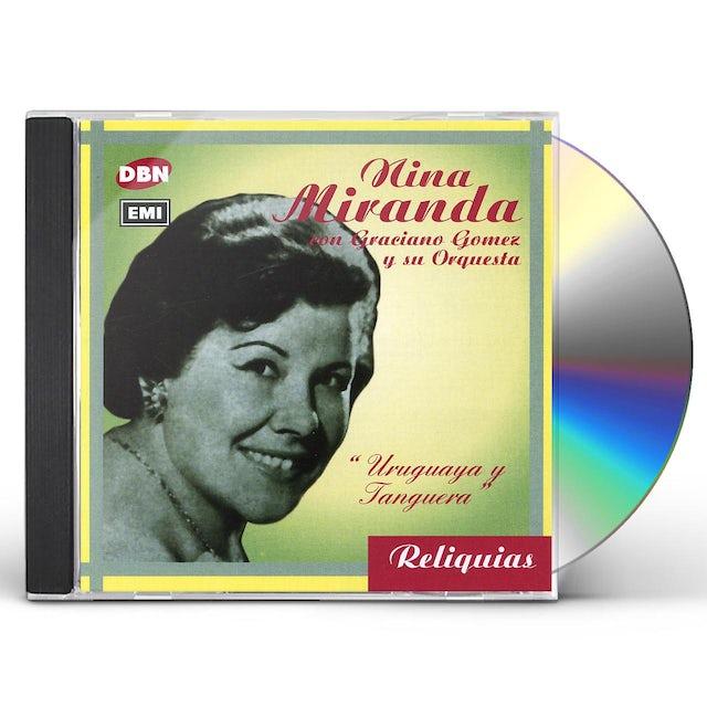 Nina Miranda URUGUAYA Y TANGUERA CD
