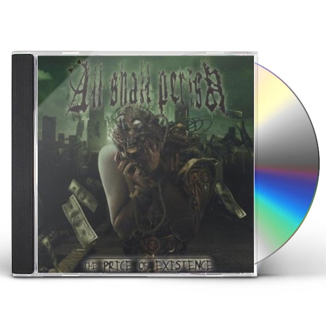 All Shall Perish PRICE OF EXISTENCE CD