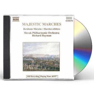 Richard Hayman MAJESTIC MARCHES CD