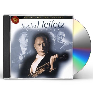 Jascha Heifetz SUPREME CD