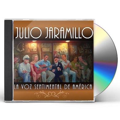 Julio Jaramillo LA VOZ SENTIMENTAL DE AMERICA CD