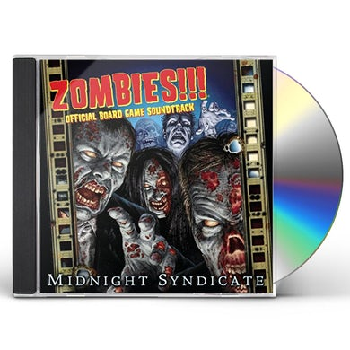 Midnight Syndicate ZOMBIES (OFFICIAL BOARD GAME SOUNDTRACK) CD