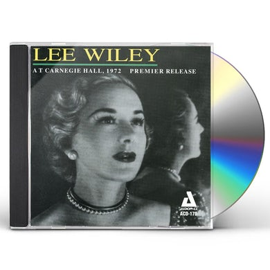 Lee Wiley AT CARNEGIE HALL 1972 CD