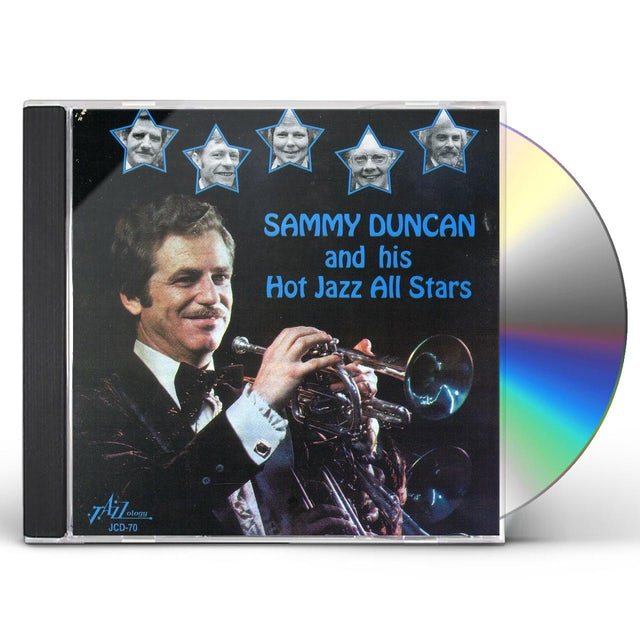 Sammy Duncan HIS HOT JAZZ ALL STARS CD