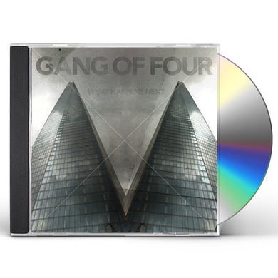 Gang Of Four WHAT HAPPENS NEXT CD