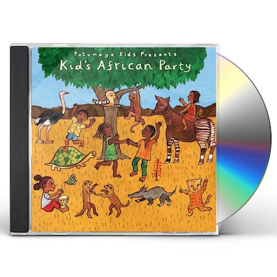 Putumayo Kids Presents KIDS AFRICAN PARTY CD