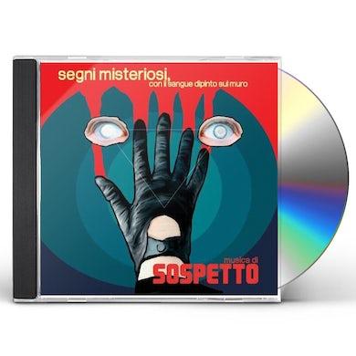 Sospetto SEGNI MISTERIOSI CON IL SANGUE DIPINTO SUL MURO CD