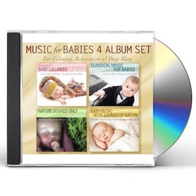Robbins Island Music Group MUSIC FOR BABIES 4 ALBUM SET: GREATEST BABY LULLAB CD