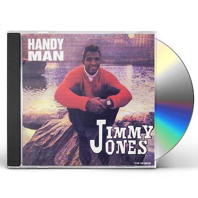Jimmy Jones HANDY MAN / BEST OF 25 CUTS CD