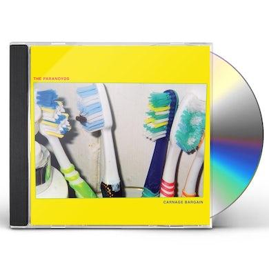 Paranoyds CARNAGE BARGAIN CD
