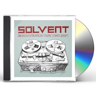 Solvent DEMONSTRATION TAPE 1997 - 2007 CD