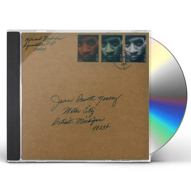 J Dilla MOTOR CITY CD