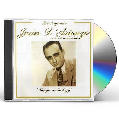Juan d'Arienzo TANGO ANTHOLOGY CD